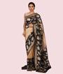 Light Gold Banarasi Tissue Saree 1