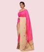 Rani Pink Banarasi Silk Saree 2