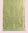 Apple Green Uppada Saree Hf Gold Zari 1