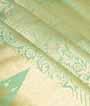 Apple Green Uppada Saree Hf Gold Zari 2