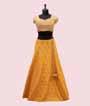 Yellow Lehenga Choli in Silk with Handwork 2