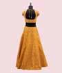 Yellow Lehenga Choli in Silk with Handwork 3