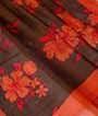 Multicolour Soft Tussar Saree Floral Print 2