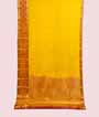 Yellow Kanjivaram Saree  Gold Zari 1