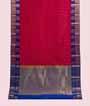 Rani Pink Kanjivaram Saree  Gold Zari 1