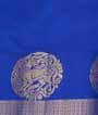 Rani Pink Kanjivaram Saree  Gold Zari 3
