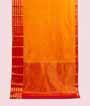 Orange and Pink Kanjivaram Saree  Gold Zari 1