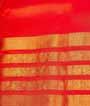 Orange and Pink Kanjivaram Saree  Gold Zari 3
