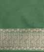 Green Banarasi Saree Katan Silk Hf Gold Zari 3