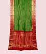 Green Kanjivaram Saree In Gold Zari 1