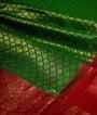 Green Kanjivaram Saree In Gold Zari 2