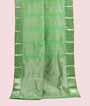 Apple Green Kanjivaram Saree Hf Gold Zari 1