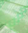 Apple Green Kanjivaram Saree Hf Gold Zari 2