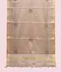 Silver Gold Tissue Kota Saree With Stone Work 1