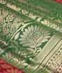 Green Uppada Saree Hf Gold Zari 2