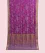 Rain Pink Soft Silk Saree Tunchi Hf Gold Zari 1