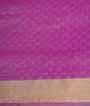 Rain Pink Soft Silk Saree Tunchi Hf Gold Zari 3