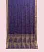 Purple Soft Silk Saree Tunchi Hf Gold Zari 1
