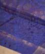 Purple Soft Silk Saree Tunchi Hf Gold Zari 2