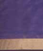 Purple Soft Silk Saree Tunchi Hf Gold Zari 3