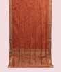 Orange Soft Silk Saree Tunchi Hf Gold Zari 1