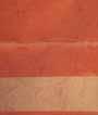 Orange Soft Silk Saree Tunchi Hf Gold Zari 3