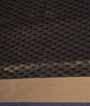 Black Soft Silk Saree Tunchi Hf Gold Zari 3
