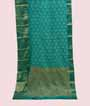 Light Blue Kanjivaram Saree Hf Gold Zari 1