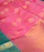 Pink Kanjivaram Saree Hf Gold Zari 2