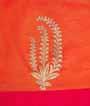 Rain Pink Tussar Silk Saree Applic Work 3