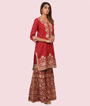 Red Salwar Kameez 2