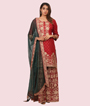 Red Salwar Kameez 3