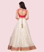Cream And Red Lehenga Choli 3