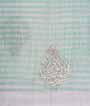 Light Green Tissue Kota Saree With Stone Work 3