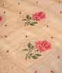 Beige Tussar Silk Saree With Thread Work 2