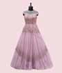 Stylish Mauve Gown with Handwork 1