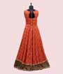 Orange Salwar Kameez in Bandej 3