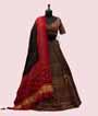Black Lehenga Choli with Multi colour Kutch work 1