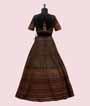 Black Lehenga Choli with Multi colour Kutch work 3