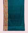 Green Tussar Silk Saree Ghicha Work 1