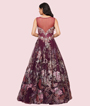 Wine Gown 3