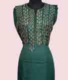 Green Unstitched Salwar Kameez 3