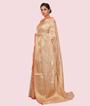 Gold Banarasi Cotton Saree 2