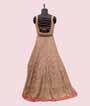 Onion Pink Salwar Kameez in Banarasi Silk 3