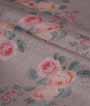 Grey Organza Saree Floral Print 2