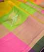 Multicolour Kanjivaram Saree In Gold And Silver Zari 2