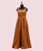 Yellow Salwar Kameez in Soft Silk Print 2