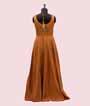 Yellow Salwar Kameez in Soft Silk Print 3