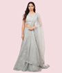 Light Blue Lehenga Choli 1
