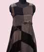 Chequered Black Kurti Full Length  2